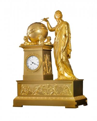 An Empire mantel clock by Bailly à Paris