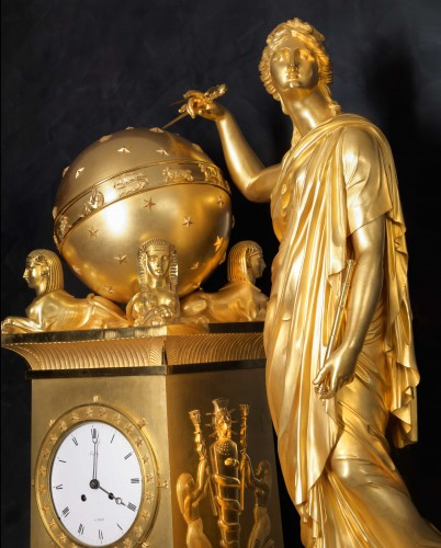 An Empire mantel clock by Bailly à Paris - Horology Style Empire