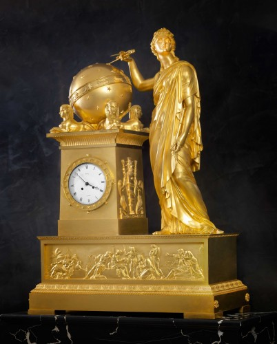Horology  - An Empire mantel clock by Bailly à Paris