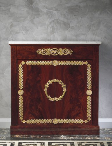 Furniture  - An Empire commode attributed to Pierre-Benoît Marcion