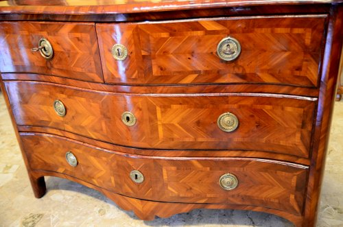 Furniture  - French Louis XV commode, mid Eighteenth Century