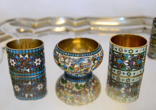 - Collection of Russian enamels, Moscow, late 19th - early 20th century