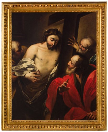 Incredulity Of Saint Thomas - Valerio Castello (Genoa, 1624 - 1659)