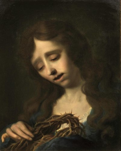 Antonio Cavallucci (1752 - 1795) - The Penitent Magdalene - Paintings & Drawings Style