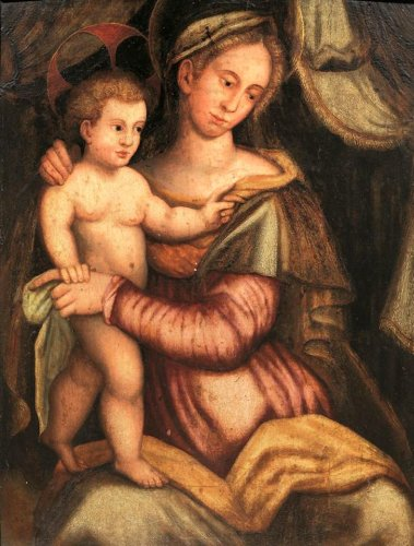 Tuscan School (Florence), early Sixteenth Century - Virgin And Child