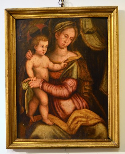 Paintings & Drawings  - Tuscan School (Florence), early Sixteenth Century - Virgin And Child