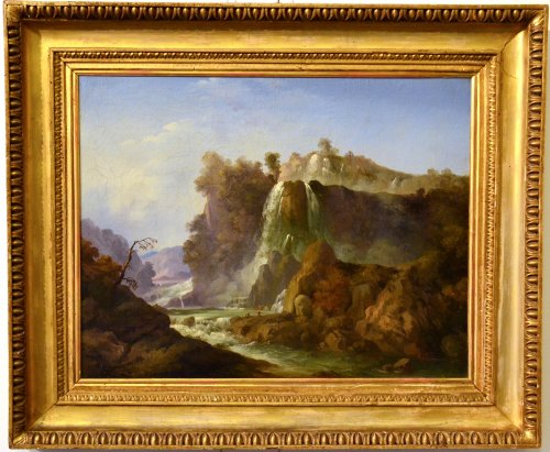 Landscape painting - Circle of Vittorio Amedeo Cignaroli
