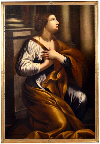 Santa Caterina - Attributed to Gian Giacomo Sementi (1583 - 1640)