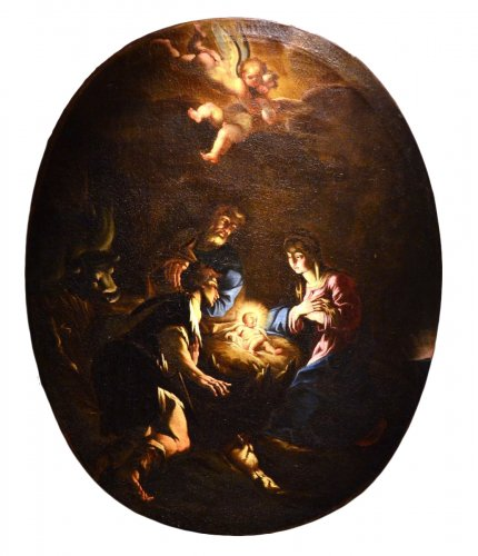 The Nativity - Attributed to Antonio Balestra (Verona, 1666 - 1740)