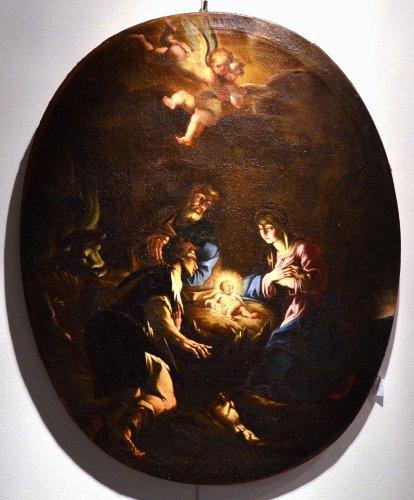 The Nativity - Attributed to Antonio Balestra (Verona, 1666 - 1740) - Louis XIV