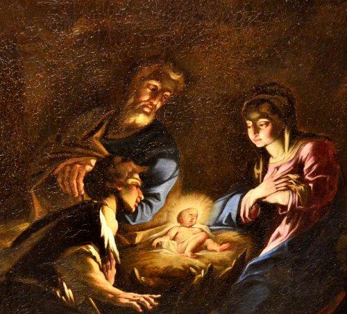 Louis XIV - The Nativity - Attributed to Antonio Balestra (Verona, 1666 - 1740)