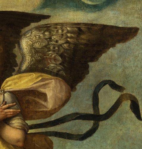 Paintings & Drawings  - Great Winged Angel - Venetian school of the 16th century