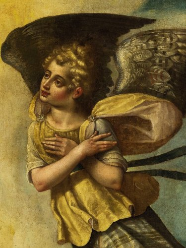 16th century - Great Winged Angel - Venetian school of the 16th century