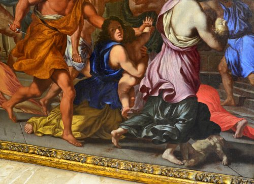 Paintings & Drawings  - The Massacre of the Innocents - Giacinto Gimignani (1606 - 1681)