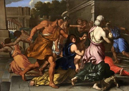 Antiquités - The Massacre of the Innocents - Giacinto Gimignani (1606 - 1681)