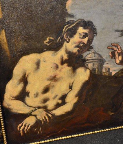 Antonio Zanchi (1631 - 1631) - Noli Me Tangere /Christ redeems a sinner -