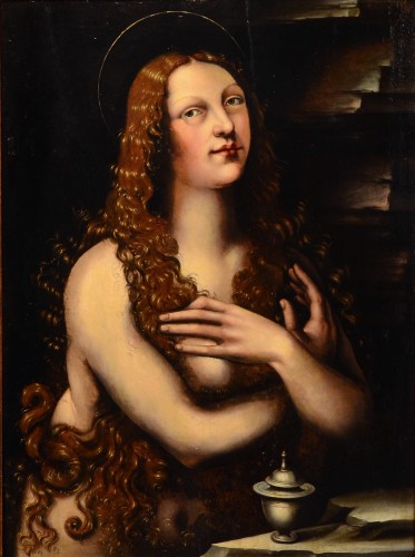 Paintings & Drawings  - Mary Magdalene - Lombardy school of the 16th century
