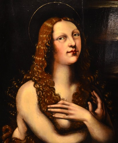 Antiquités - Mary Magdalene - Lombardy school of the 16th century