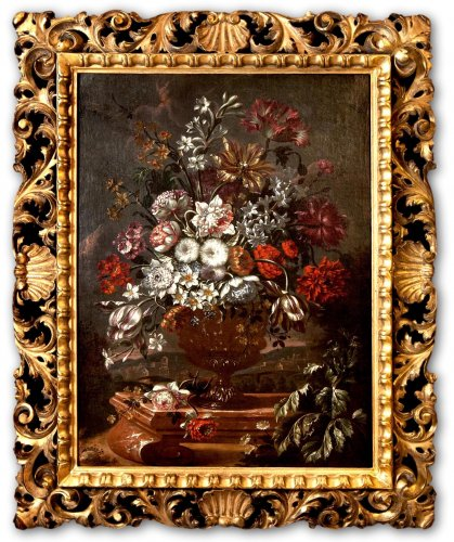 Andrea Scacciati (Florence, 1642 - 1710) - Floral Composition