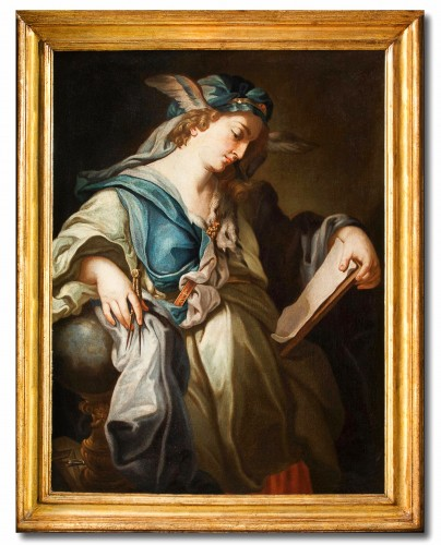 Urania, Muse Of Astronomy - 18th century italian school, attributed to Francesco Trevisani (1656 - 1746)
