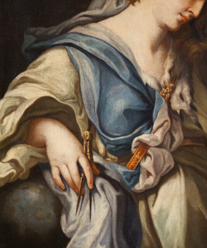 Urania, Muse Of Astronomy - 18th century italian school, attributed to Francesco Trevisani (1656 - 1746) - Louis XV