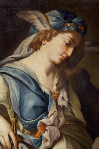 Louis XV - Urania, Muse Of Astronomy - 18th century italian school, attributed to Francesco Trevisani (1656 - 1746)
