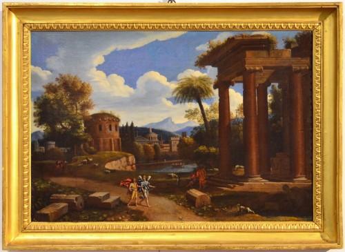 attributed to Domenico Zampieri Called 'Domenichino' (1581 - 1641), Arcadian Landscape