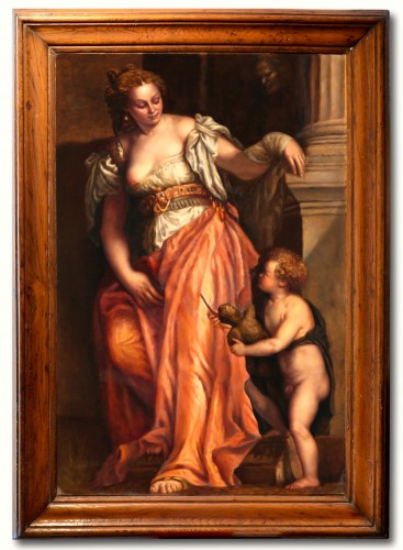 Allegory Of Sculpture - Venetian School Of The Eighteenth Century
