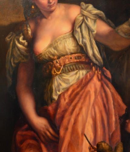 Allegory Of Sculpture - Venetian School Of The Eighteenth Century - Paintings & Drawings Style Louis XV