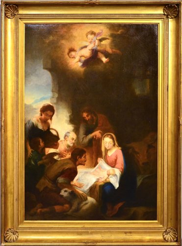 Nativity, Entourage Esteban Murillo