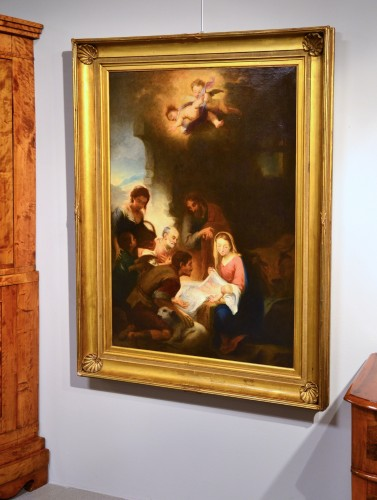 - Nativity, Entourage Esteban Murillo