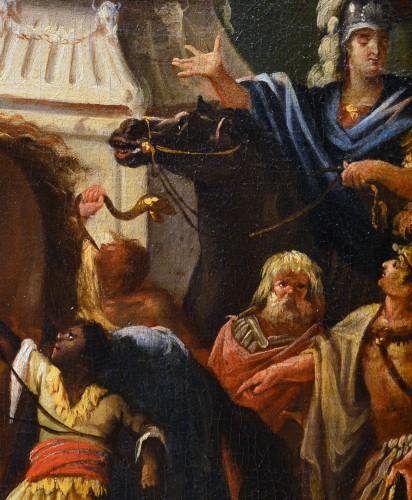 Alexander the Great at Achilles' Tomb - Johann Heinrich Schönfeld -