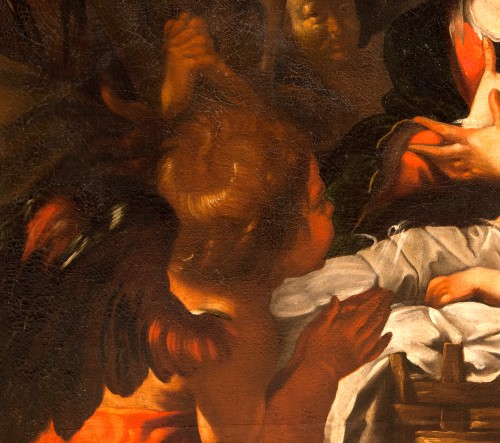 Bernardo Strozzi (Genoa 1581 - Venice 1644) and workshop - The Nativity -