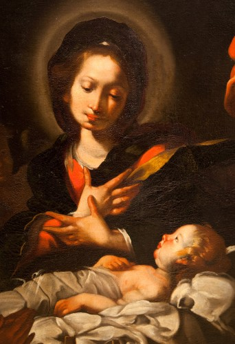 - Bernardo Strozzi (Genoa 1581 - Venice 1644) and workshop - The Nativity