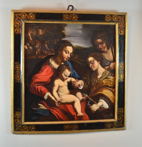 Mystic Marriage of St. Catherine - Ludovico Cardi 'Cigoli' (1559 - 1613) -