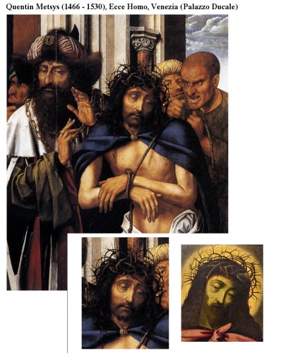 Antiquités - Ecce Homo - Flemish School of the late 16th century