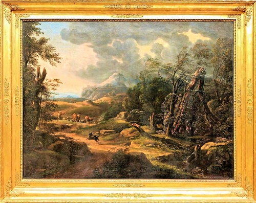 Carlo Antonio Tavella (1668 -1738) - Animated landscape