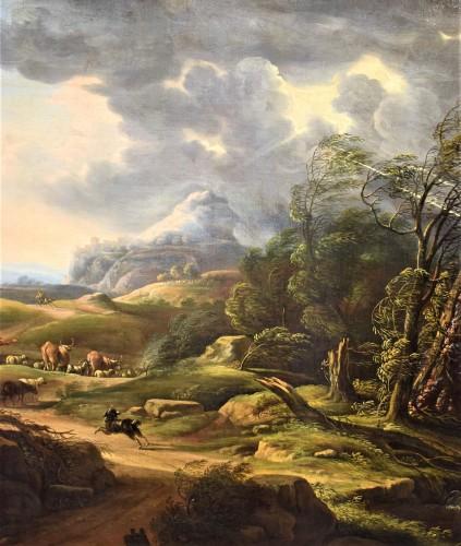 Paintings & Drawings  - Carlo Antonio Tavella (1668 -1738) - Animated landscape