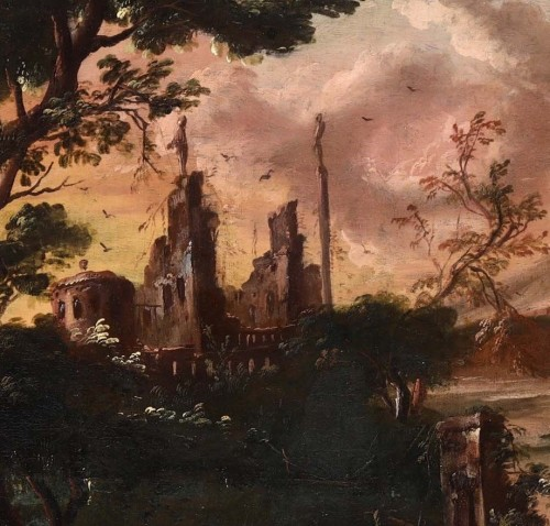 Louis XIV - Fantastic landscape at sunset