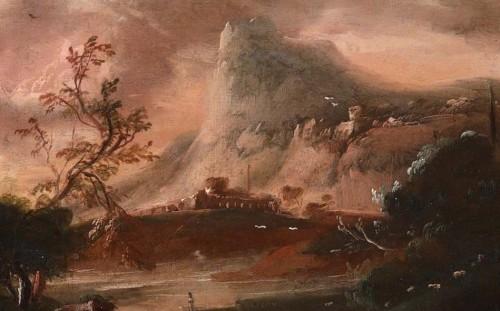 Antiquités - Fantastic landscape at sunset