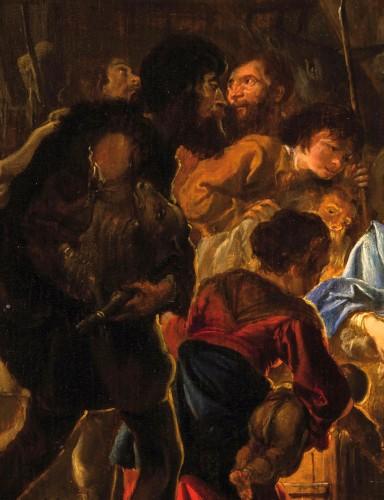 Abraham Danielsz Hondius - Nativity with adoration of the shepherds -