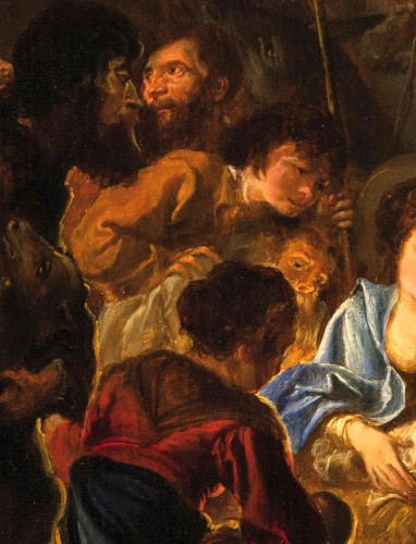 Antiquités - Abraham Danielsz Hondius - Nativity with adoration of the shepherds