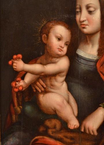 Antiquités - Madonna of Cherries - Circle of Joos van Cleve (1485 - 1540)