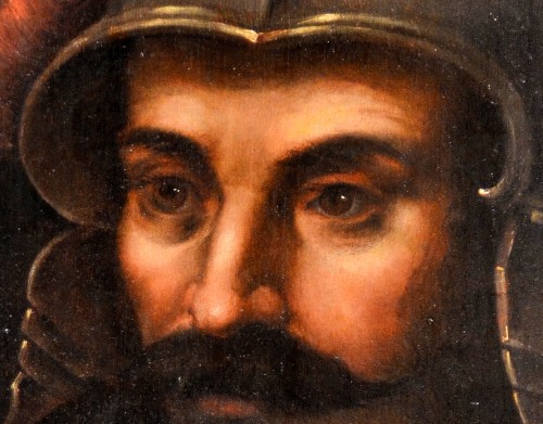 Portrait of the god of war Mars - Flemish school of the 17th century - Paintings & Drawings Style