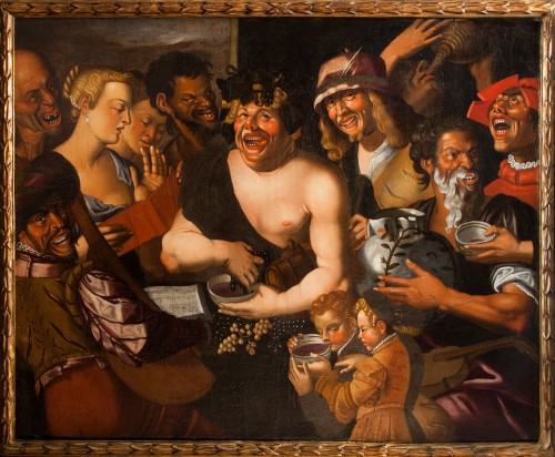Niccolò Frangipane (around 1545 - after 1597) - Feast of Bacchus