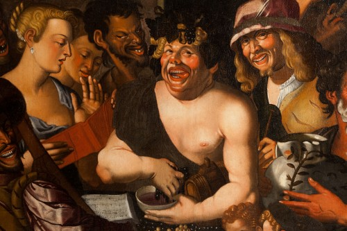 16th century - Niccolò Frangipane (around 1545 - after 1597) - Feast of Bacchus