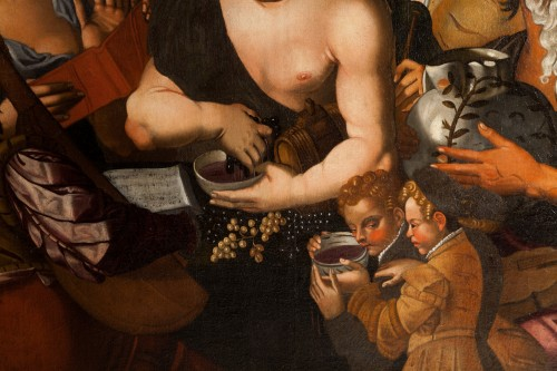 Niccolò Frangipane (around 1545 - after 1597) - Feast of Bacchus - Renaissance