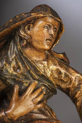17th century - Madone au pied de la croix