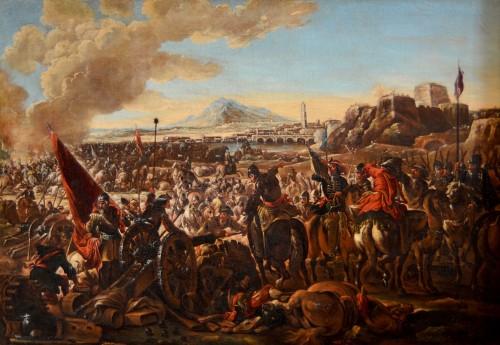 Battle scene - Ilario Mercanti dit 'Spolverini' (1657-1734)