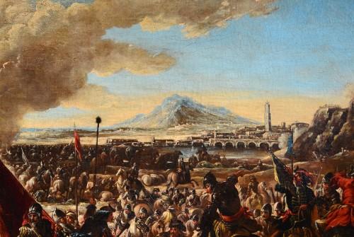 Battle scene - Ilario Mercanti dit 'Spolverini' (1657-1734) - Louis XV